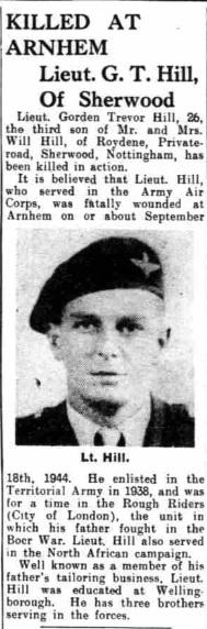 The nottingham Evening Post 30-6-1945