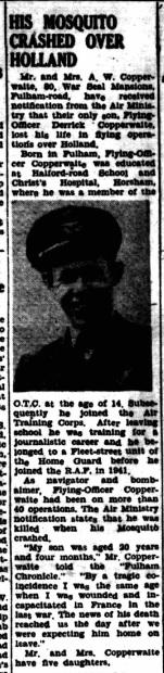 Fulham Chronicle 17-11-1944