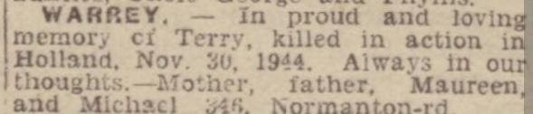 Derby Daily Telegraph 1-12-1947