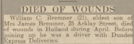 Dundee Courier 8-5-1945