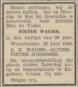Nieuwsblad van het Noorden 27-6-1940