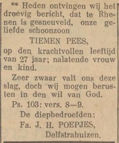 Nieuwsblad van Friesland 7-6-1940