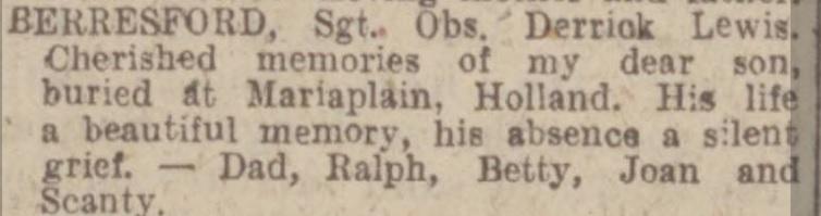 Nottingham Evening Post 26-5-1944