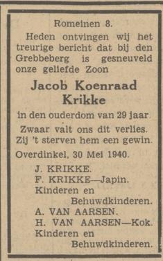 Twentsch Dagblad Tubantia 31-5-1940