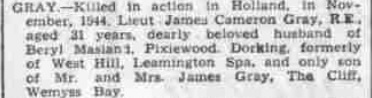Royal Leamington Spa Courier 17-11-1944