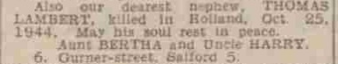 Manceshter Evenings News 8-6-1945