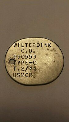 US Navy/Marine Corps Dog tag