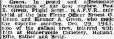 Newcastle Evening Chronicle 29-12-1944