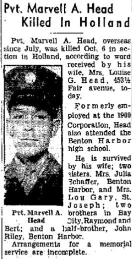 Benton Harbor News Palladium 15-11-1944