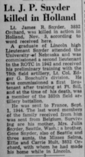Lincoln Evening State journal 22-11-1944