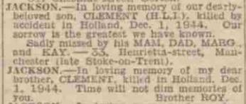 Manchester Evening 1-12-1945