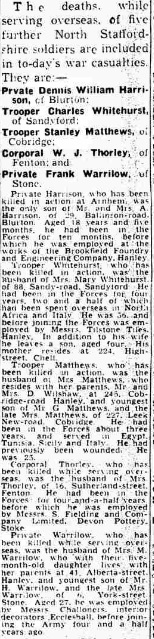 Evening Sentinel 6-10-1944