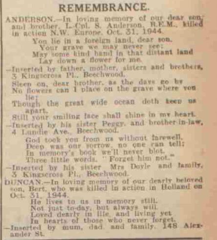 The Evening Telegraph 31-10-1945
