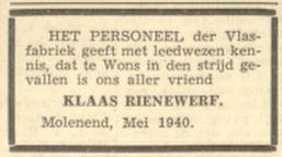 Leeuwarder Courant 18-5-1940