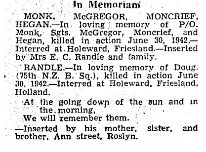 Otago Daily times 30-6-1945