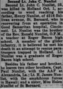 Cincinnati Catholic Telegraph Register 10-11-1944