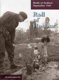 Roll of Honour, Battle of Arnhem, September 2011 (5th Edition) (collection P. Reinders)