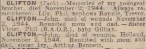Birmingham Mail 2-11-1945