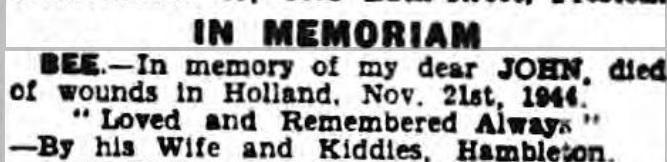 Lancashire Evening Post 21-11-1946