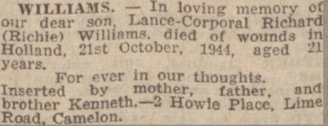 Falkirk Herald 20-10-1945
