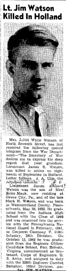 Indiana Evening Gazette 6-10-1944