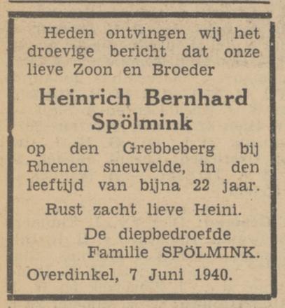Twentsch Dagblad Tubantia 8-6-1940