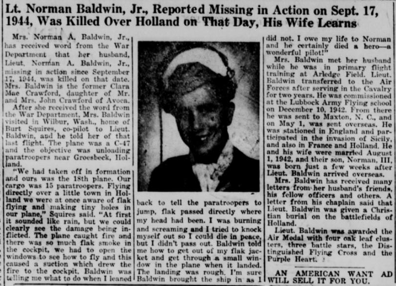 Stamford American 19-10-1945