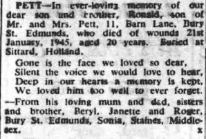 Bury Free Press 23-1-1948