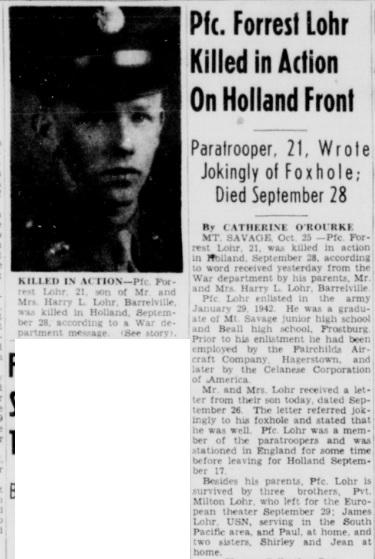 Cumberland News 26-10-1944