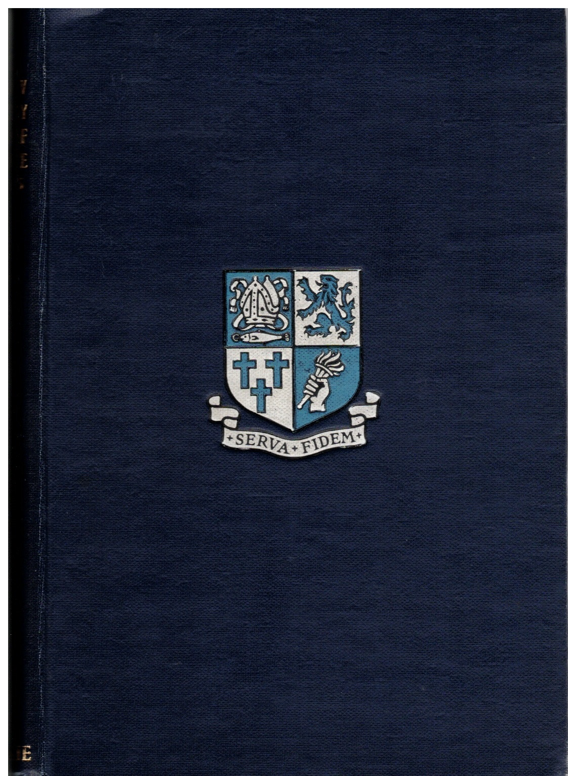 The Glasgow Academy Roll of Service, 1951 (collection P. Reinders)