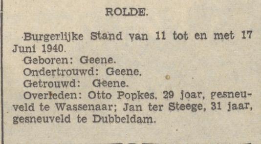 Provinciale Drentsche en Asser Courant 18-6-1940