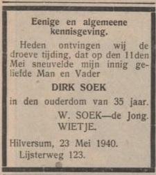 De Gooi en Eemlander 24-5-1940