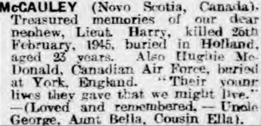 Morpeth Herald 1-3-1946
