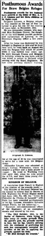 Worthing Gazette 22-8-1945