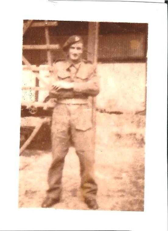 Private Ernest Finchett (P. Reinders)