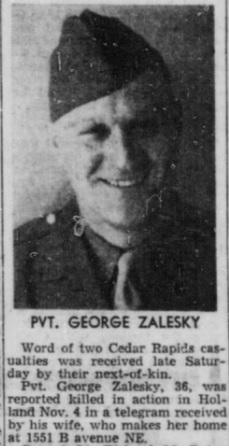 Cedar Rapids Gazette 19-11-1944