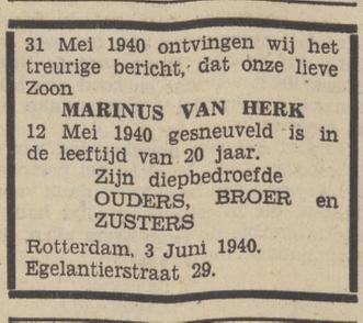 Utrechts Volksblad 4-6-1940