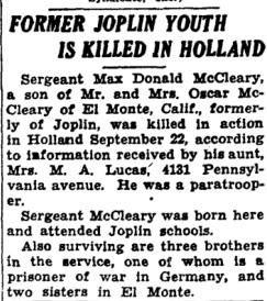Joplin Globe 2-11-1944