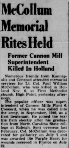 Kannapolis Daily Indepenent 13-11-1944