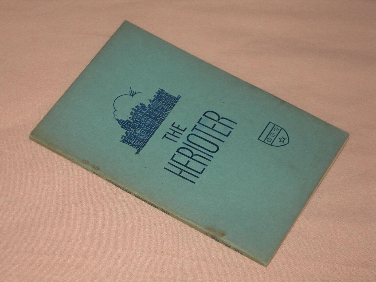 Roll of Honour, Heriot School, December 1945