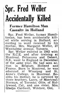 Hamilton spectator 5-2-1945
