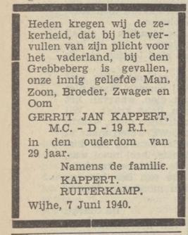 Provinciale Overijsschelsche Courant 10-6-1940