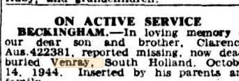Sydney Morning Herald 14-10-1944