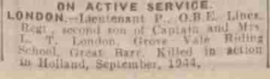 Evening Despatch 30-10-1944