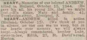 Evening Express 15-10-1945