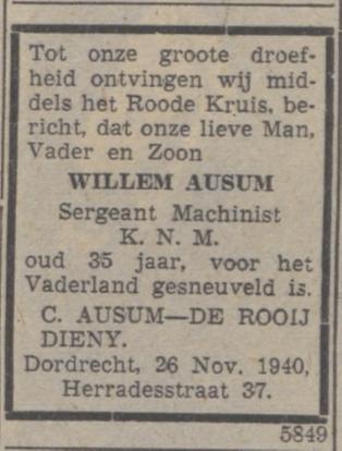 De Courant Het Nieuws van de Dag 5-12-1940