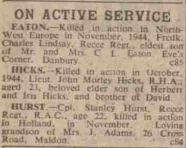 The Essex Chronicle 17-11-1944