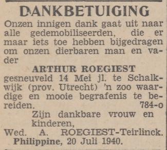 Dagblad van het Noorden 20-7-1940