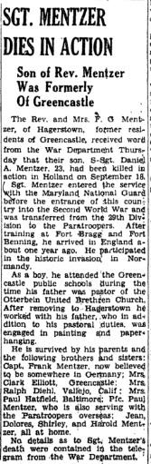 Waynesboro Record Herald 6-10-1944
