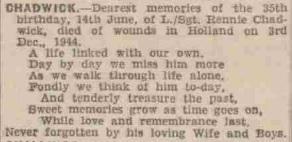 Rochdale Observer 9-6-1945